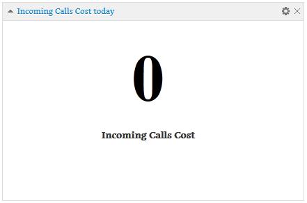ویجت هزینه تماس های ورودی راهی مطمئین برای شناسایی هزینه تمام شده هر تماس